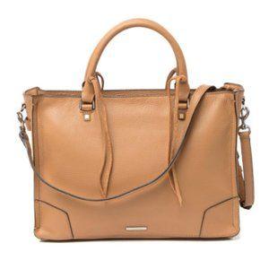 🆕 | regan pebbled leather satchel tote |